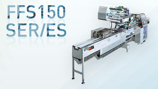 Supplied to the horizontal pillow packaging machine FFS150 Series